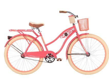 Huffy Bicycles 26657 Ladies' Deluxe Cruiser Bicycle