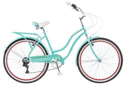 "Schwinn 26"" Ladies Perla 7 Speed Cruiser Bike"