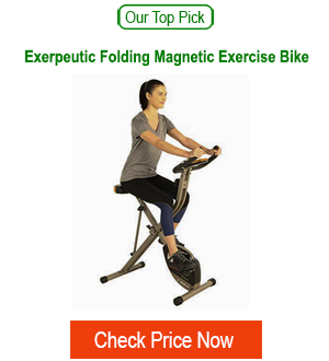 Recommeded folding exercise bicycle
