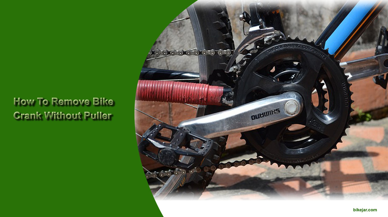 how to remove bike chank without puller